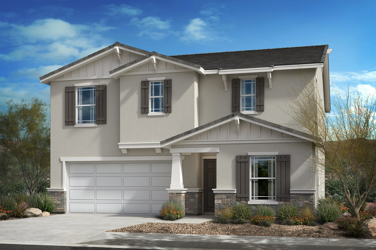 New Homes in Santa Paula, CA - Residence 2371 - Craftsman 'B'