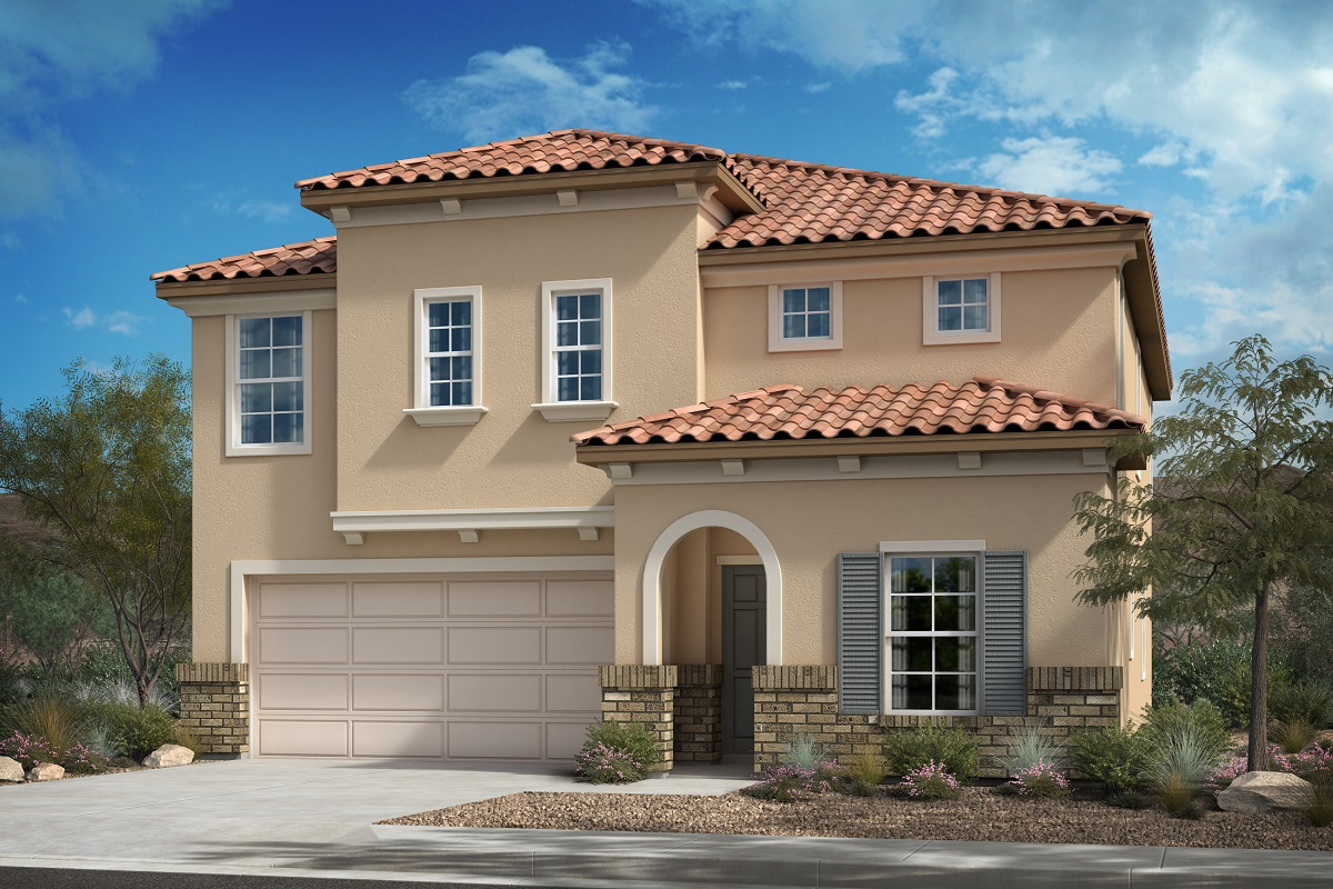 New Homes in Santa Paula, CA - Residence 2371 - Italianate 'C'