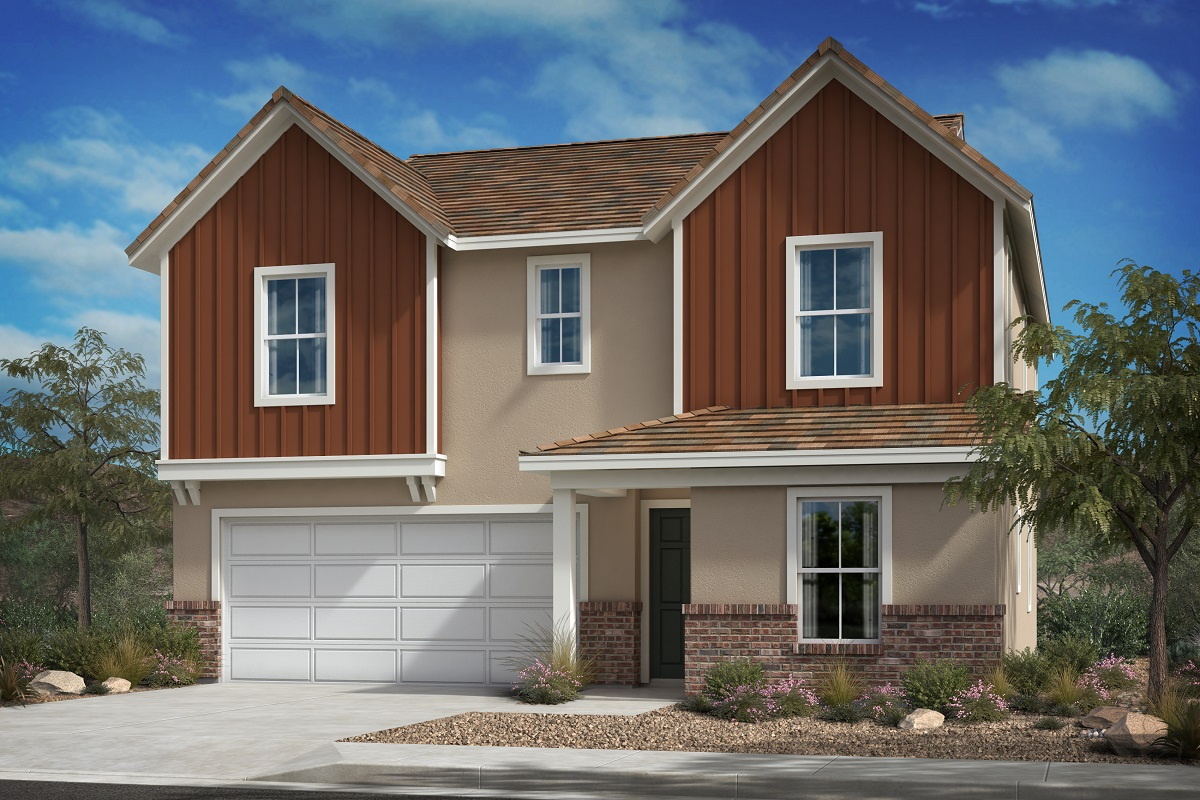 New Homes in Santa Paula, CA - Residence 2371 - Contemporary Farmhouse 'D'