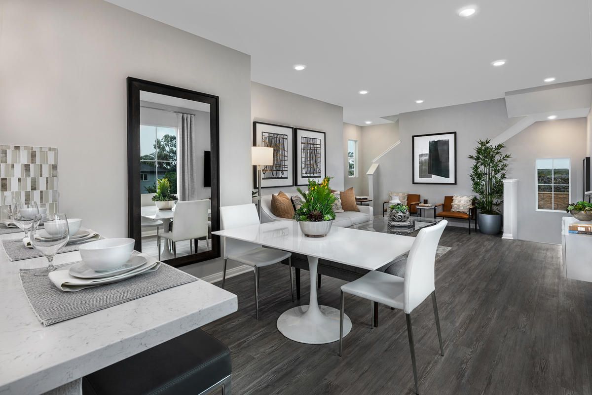 New Homes in Anaheim, CA - Arroyo Plan 1270 - Dining Room