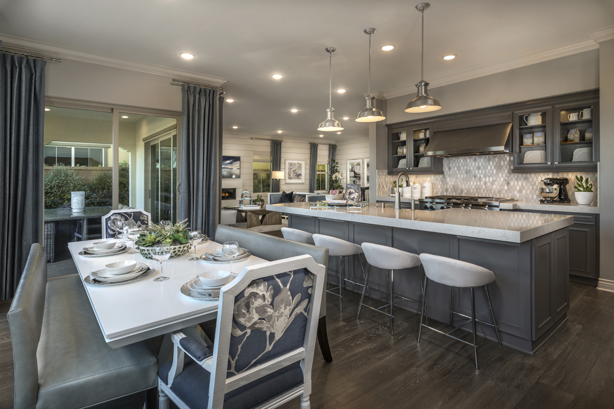 New Homes in Irvine, CA - Elderberry at Portola Springs Residence One Kitchen
