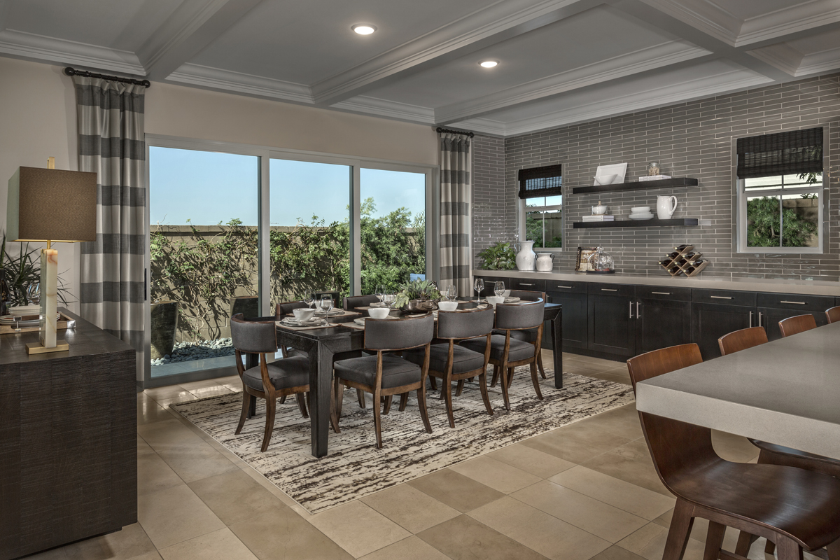 New Homes in Irvine, CA - Elderberry at Portola Springs Residence Two Dining Room