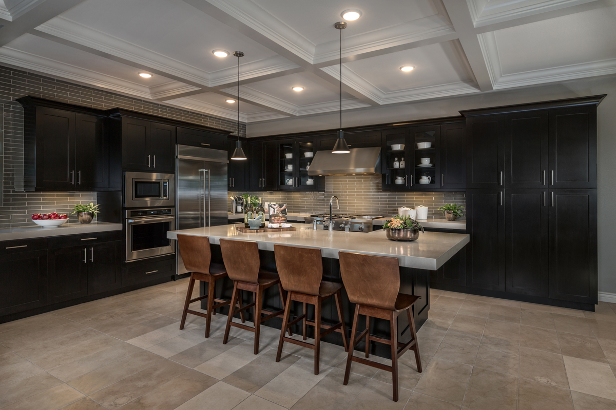 New Homes in Irvine, CA - Elderberry at Portola Springs Residence Two Kitchen