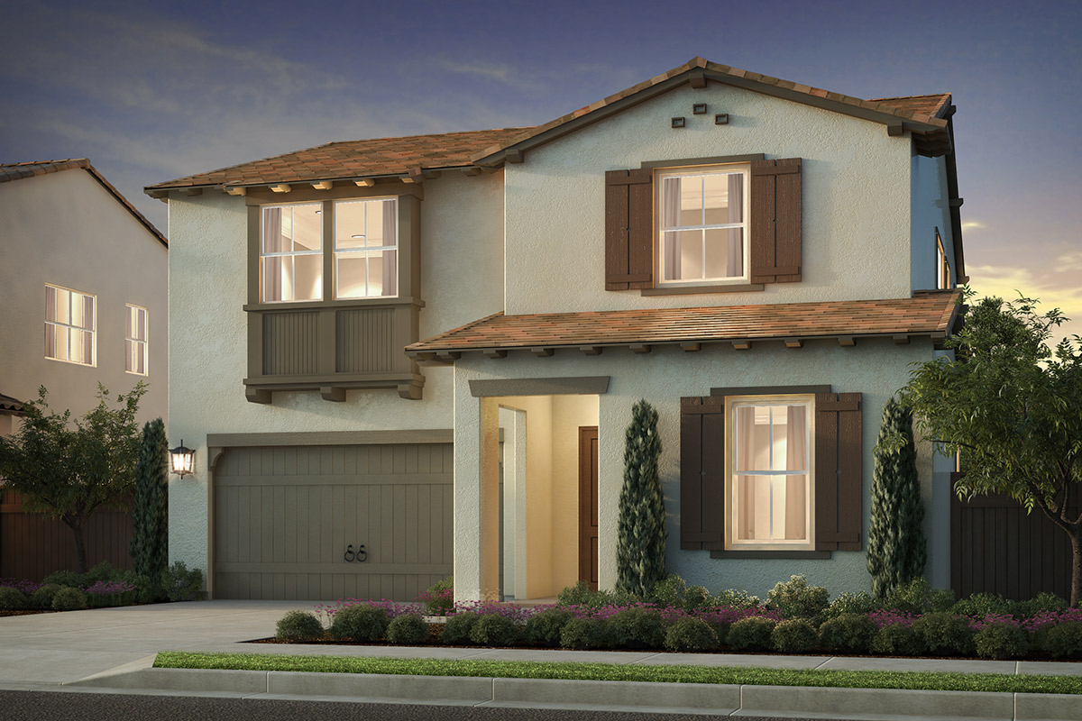 New Homes in Irvine, CA - Elevation 'B'