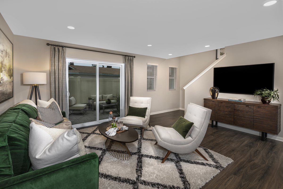 New Homes in Anaheim, CA - Euclid Place Residence 2X Bonus Room