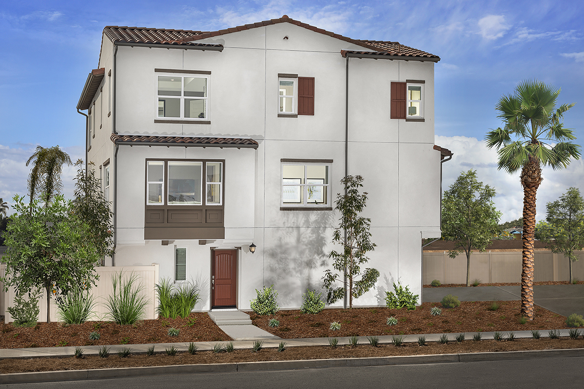 New Homes in Anaheim, CA - Euclid Place Residence 2X 'A'