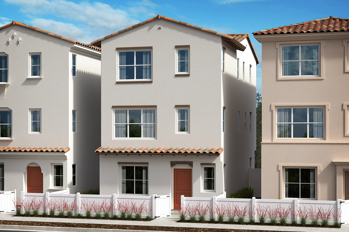 New Homes in Anaheim, CA - Elevation A