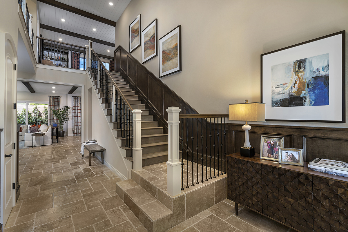 New Homes in Irvine, CA - Genoa at Orchard Hills Residence One Entry Foyer