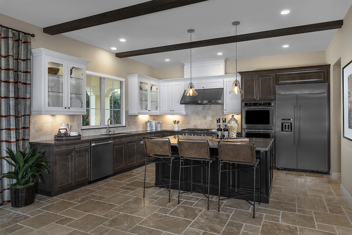New Homes in Irvine, CA - Genoa at Orchard Hills Residence One Kitchen