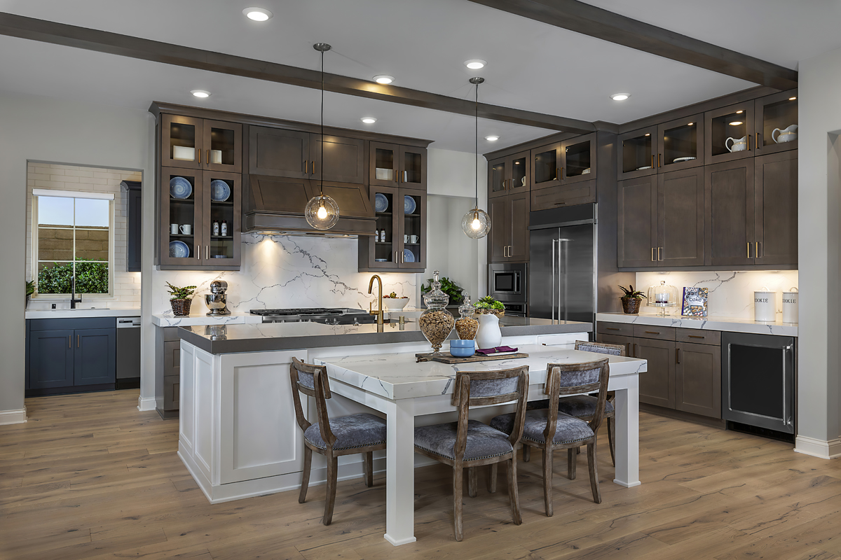New Homes in Irvine, CA - Genoa at Orchard Hills Residence Two Kitchen