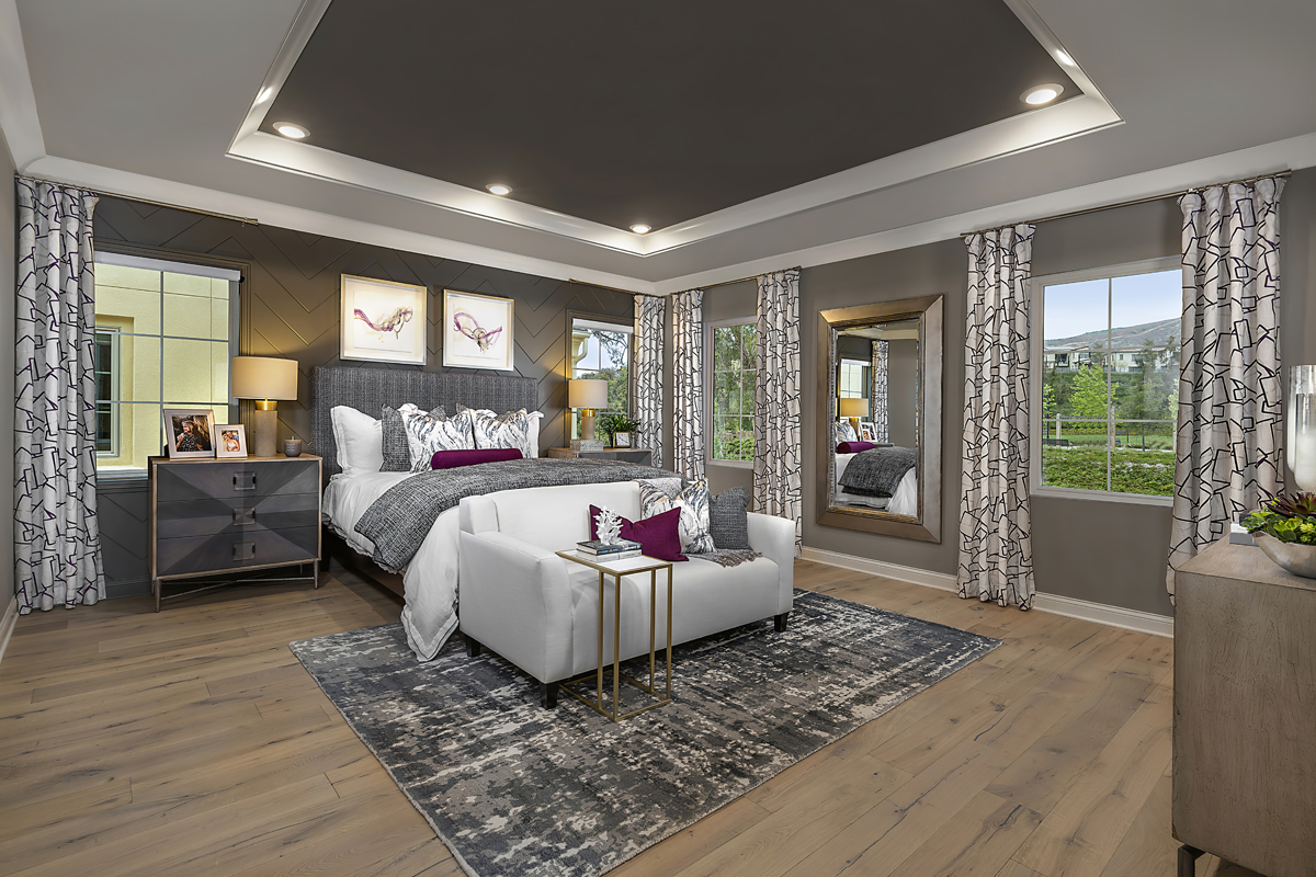 New Homes in Irvine, CA - Genoa at Orchard Hills Residence Two Master Bedroom