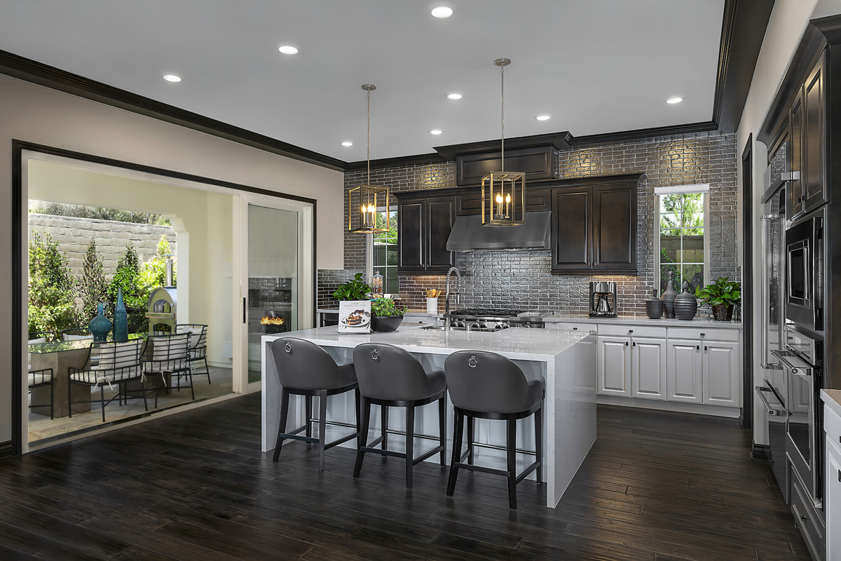 New Homes in Irvine, CA - Genoa at Orchard Hills Residence Three Kitchen