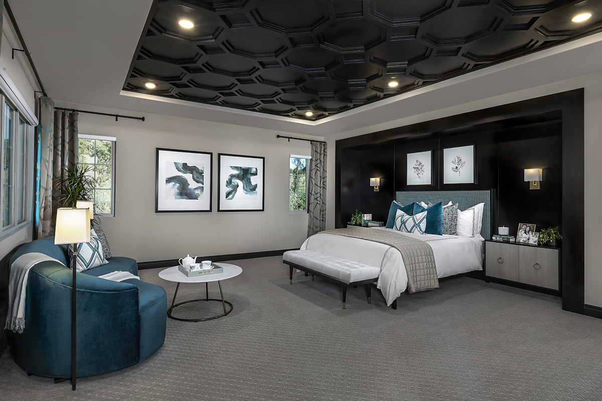 New Homes in Irvine, CA - Genoa at Orchard Hills Residence Three Master Bedroom