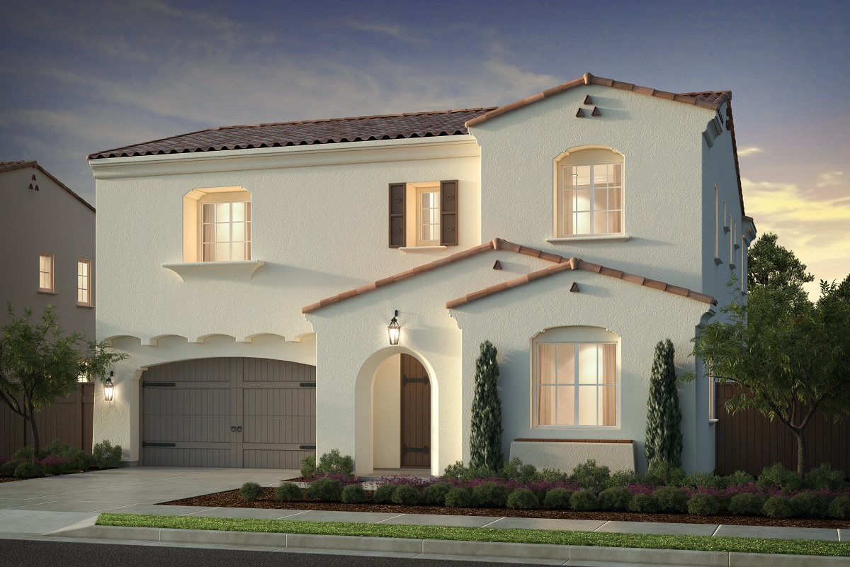 New Homes in Irvine, CA - Residence One - Elevation A