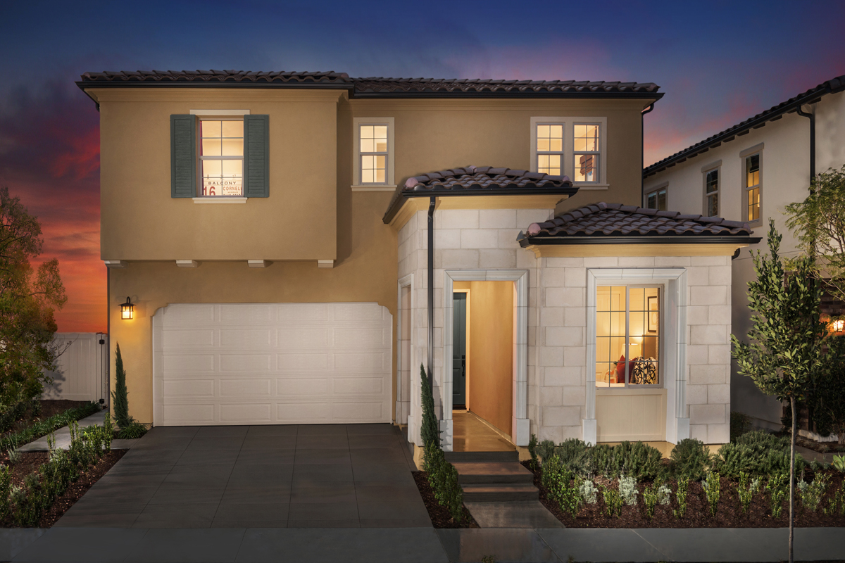 New Homes in Lake Forest, CA - Highmark at Ironridge Residence One Exterior