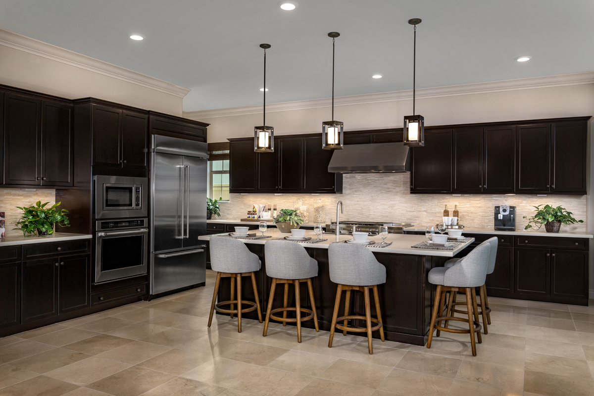 New Homes in Lake Forest, CA - Highmark at Ironridge Residence One Kitchen
