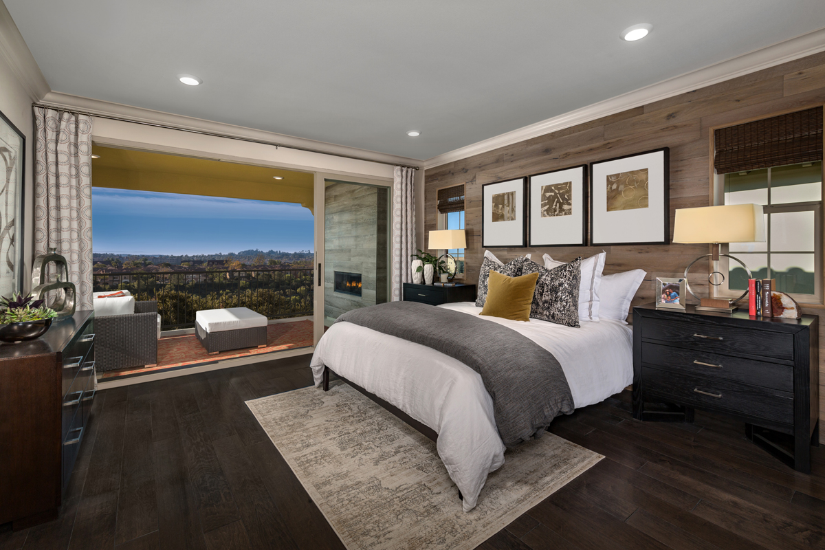 New Homes in Lake Forest, CA - Highmark at Ironridge Residence One Master Bedroom