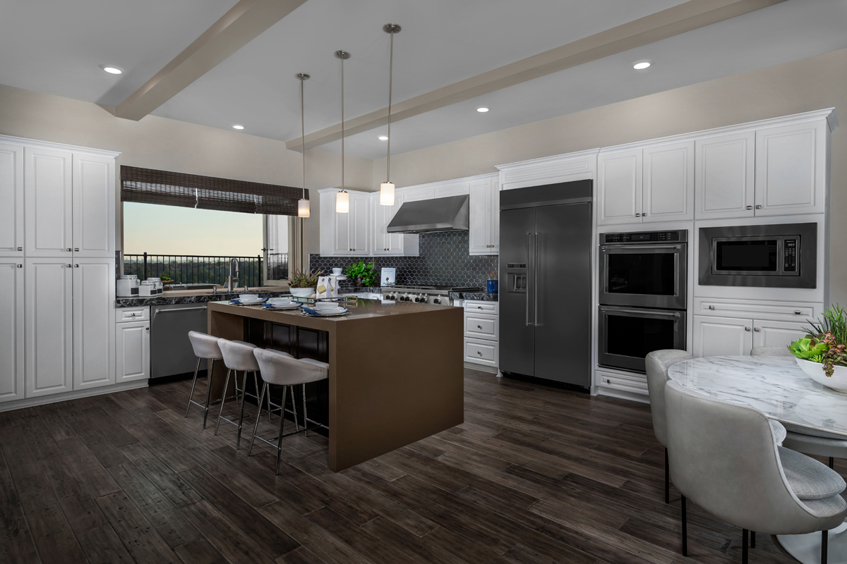 New Homes in Lake Forest, CA - Highmark at Ironridge Residence Two Kitchen