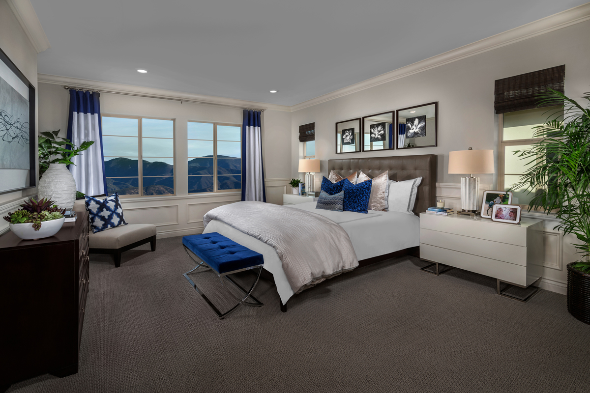 New Homes in Lake Forest, CA - Highmark at Ironridge Residence Two Master Bedroom