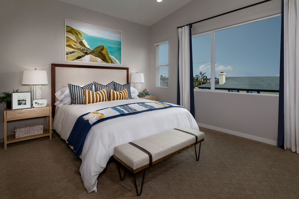 New Homes in Stanton, CA - Lighthouse Plan 1924 Master Bedroom