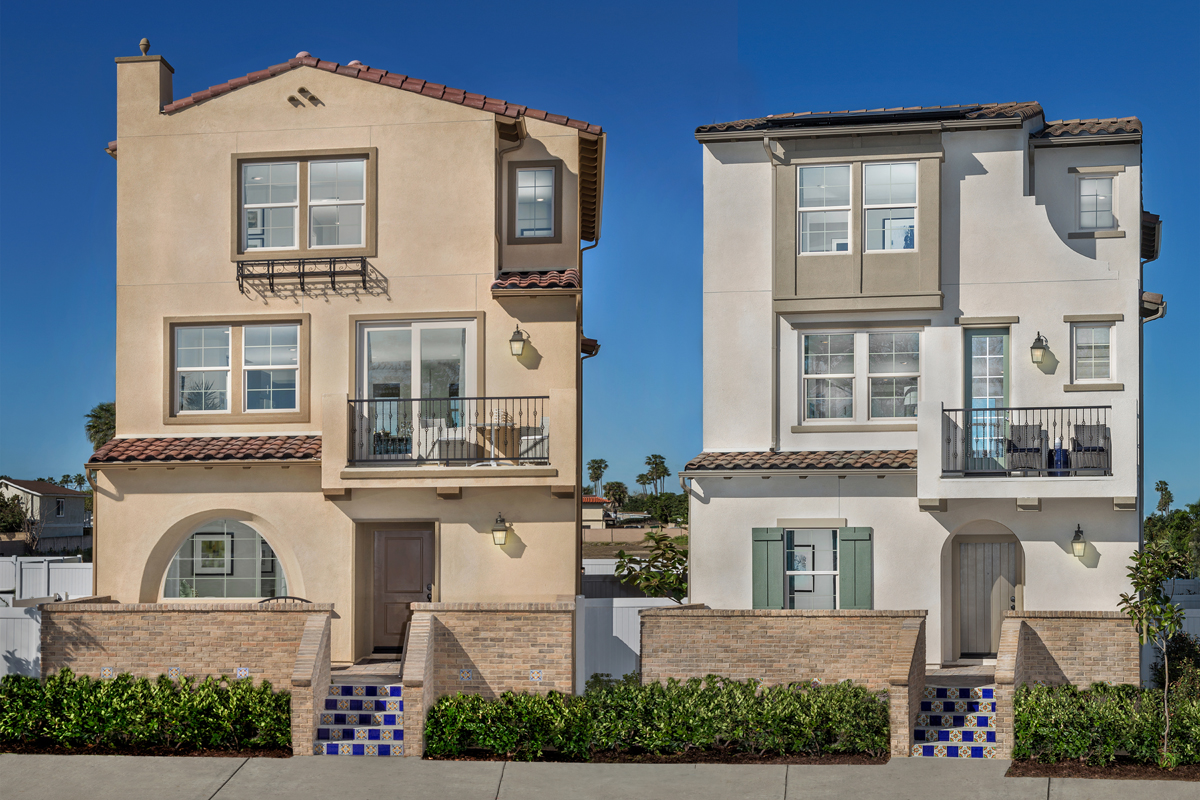 New homes for sale in santa ana ca lotus community by for Modern homes for sale in orange county