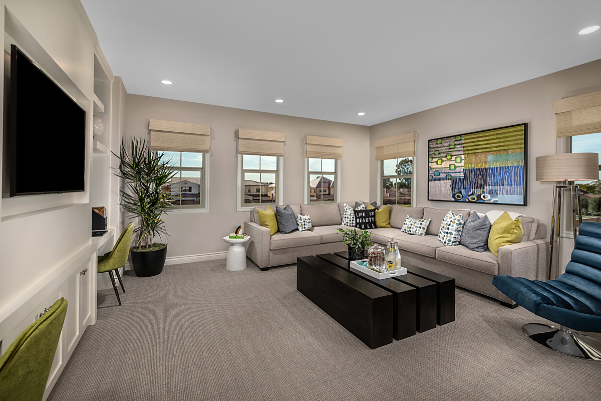 New Homes in Irvine, CA - Napa at Eastwood Village Residence Two - Loft