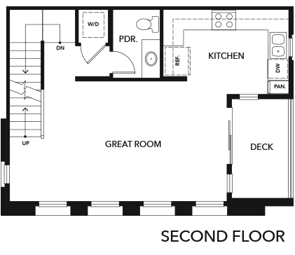 New Homes in Irvine, CA - Residence One, Second Floor