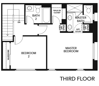 New Homes in Irvine, CA - Residence One, Third Floor