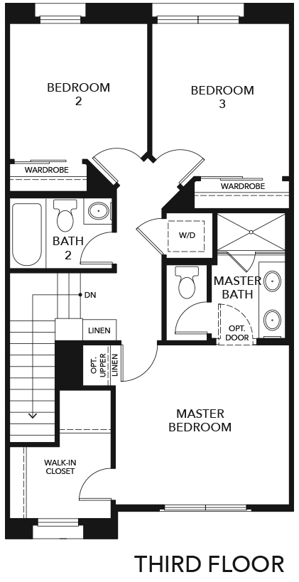 New Homes in Irvine, CA - Residence Three, Third Floor