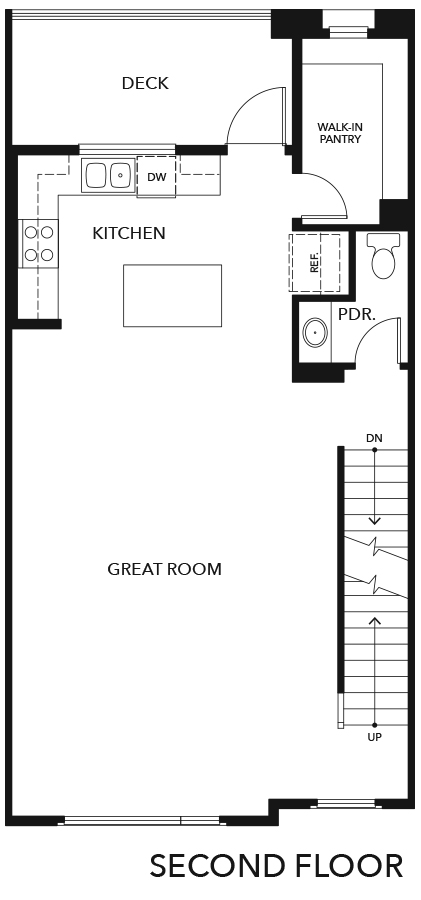 New Homes in Irvine, CA - Residence Four, Second Floor