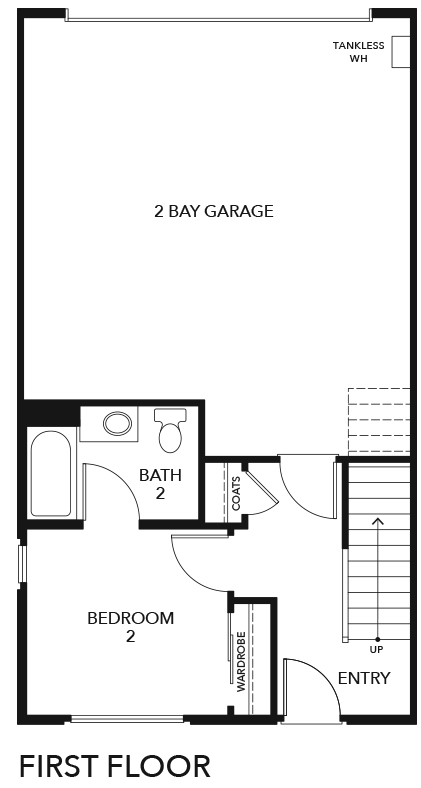 New Homes in Irvine, CA - Residence Five, First Floor
