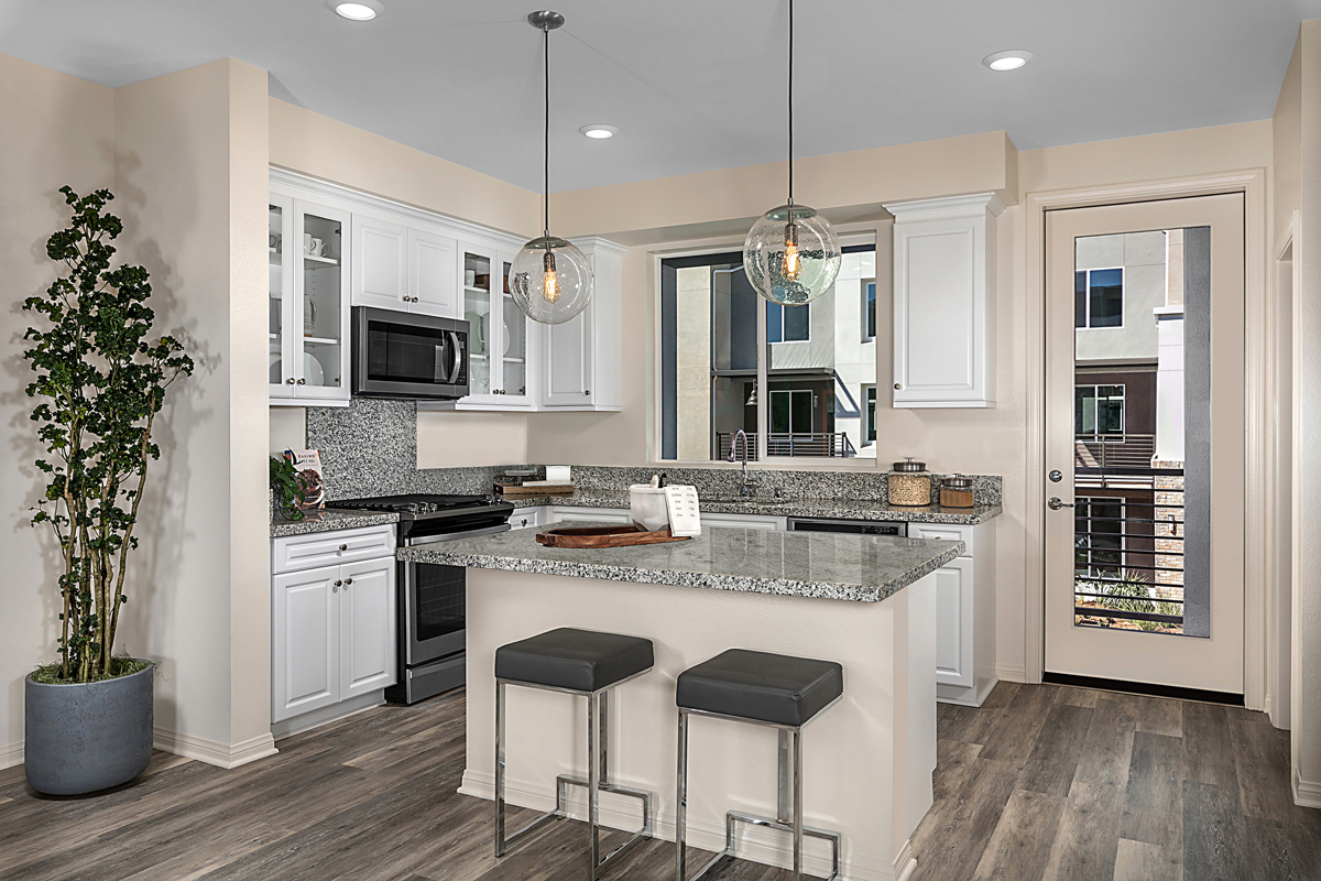 New Homes in Irvine, CA - Paseo Del Mar Residence Four Kitchen