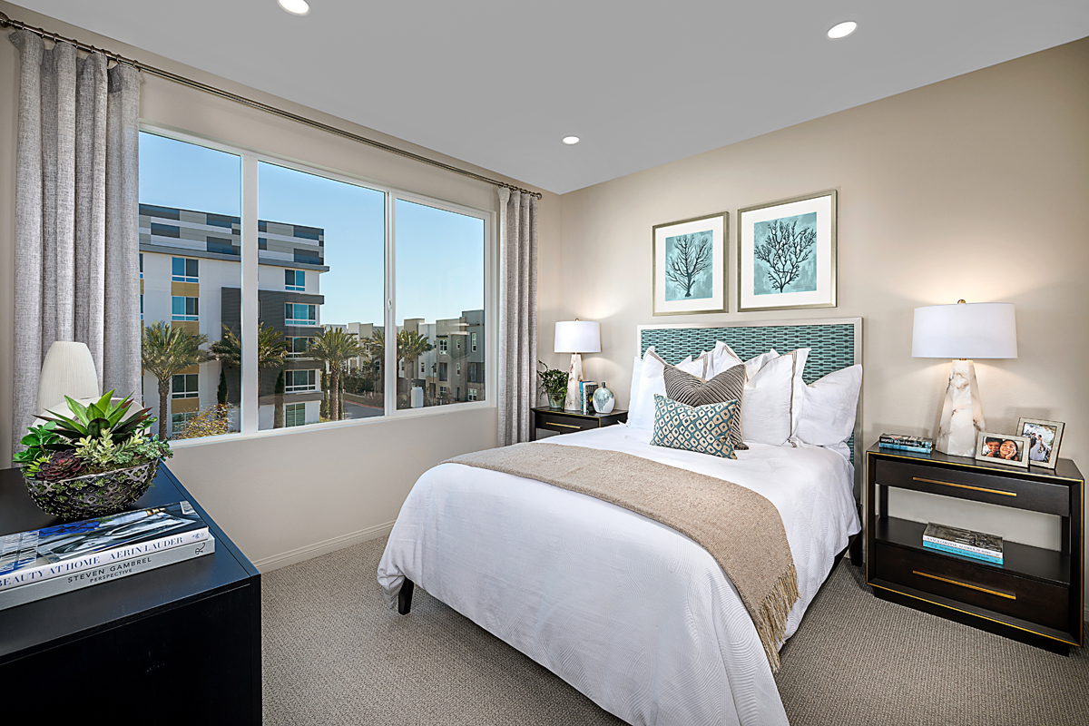 New Homes in Irvine, CA - Paseo Del Mar Residence Four Master Bedroom