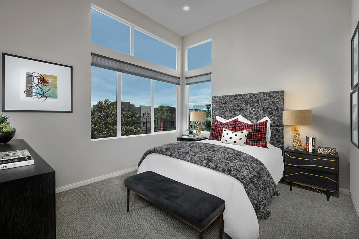 New Homes in Irvine, CA - Paseo Del Mar Residence 5 Master Bedroom
