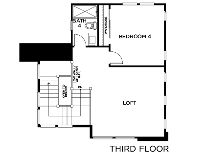 New Homes in Irvine, CA - Residence Two, Third Floor