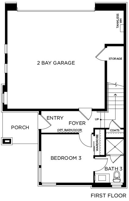 New Homes in Irvine, CA - Residence One, First Floor
