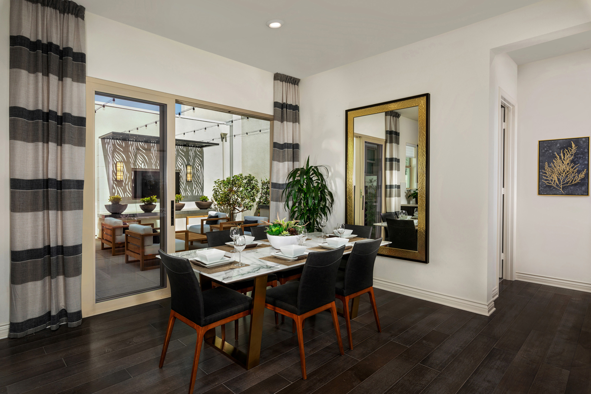 New Homes in Irvine, CA - Prado at Cadence Park Residence Two - Dining Room