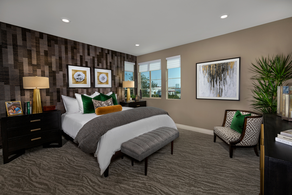 New Homes in Irvine, CA - Prado at Cadence Park Residence Two - Master Bedroom