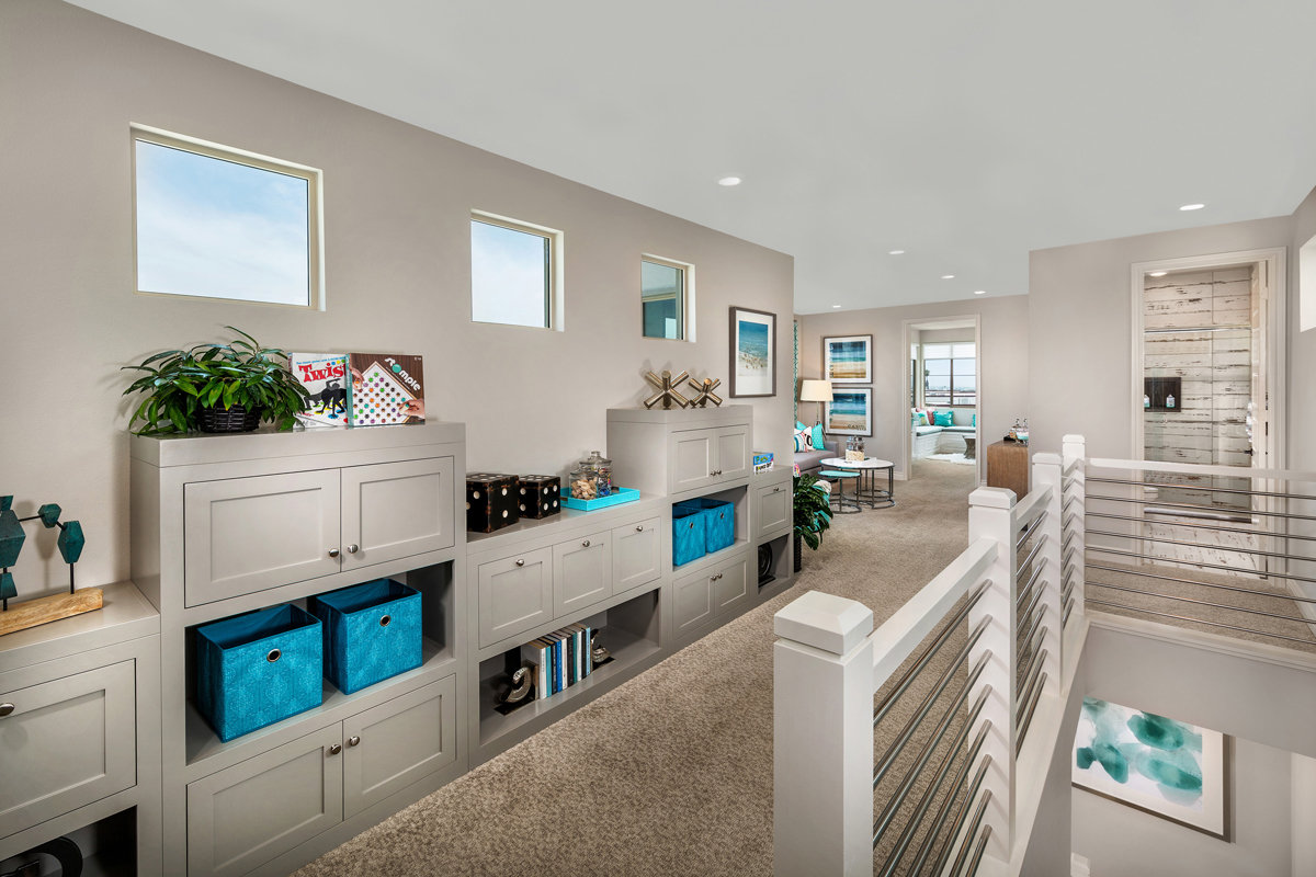 New Homes in Irvine, CA - Prado at Cadence Park Residence Three - Loft
