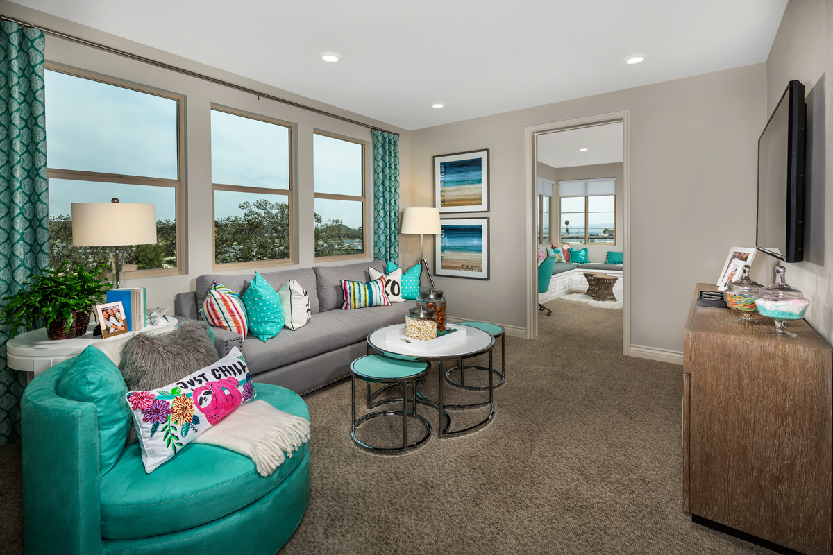 New Homes in Irvine, CA - Prado at Cadence Park Residence Three - Loft (Alternate View)