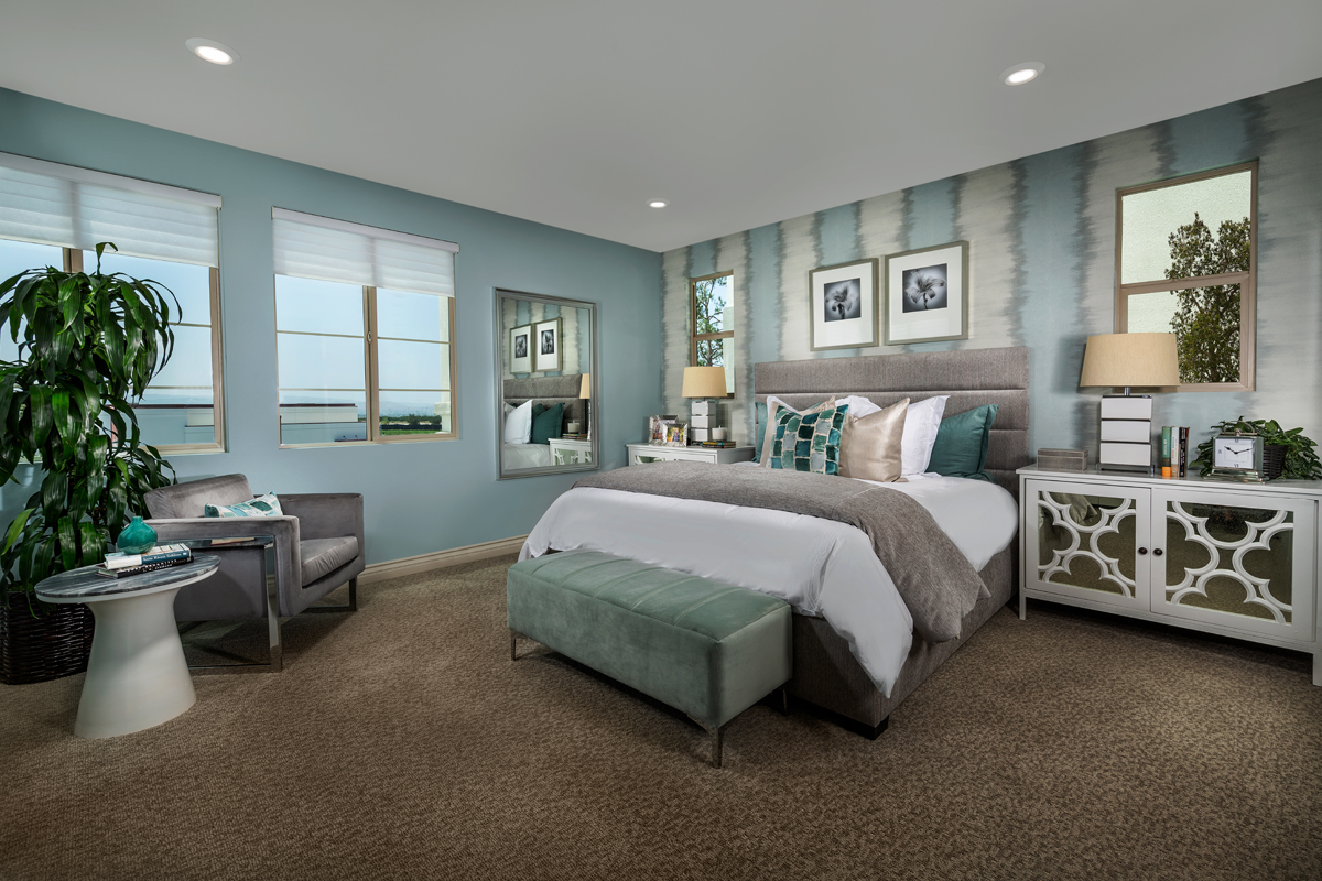 New Homes in Irvine, CA - Prado at Cadence Park Residence Three - Master Bedroom