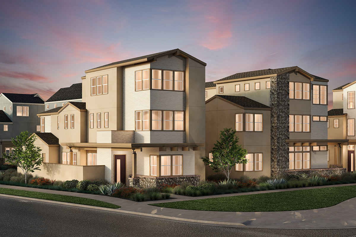 New Homes in Irvine, CA - Transitional Elevation 'A'