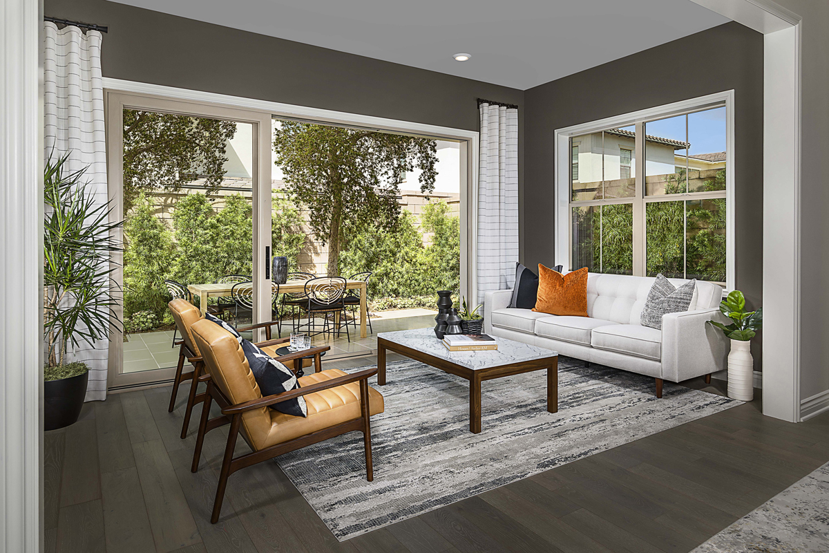 New Homes in Irvine, CA - Solano at Eastwood Village Residence Two - Conservatory
