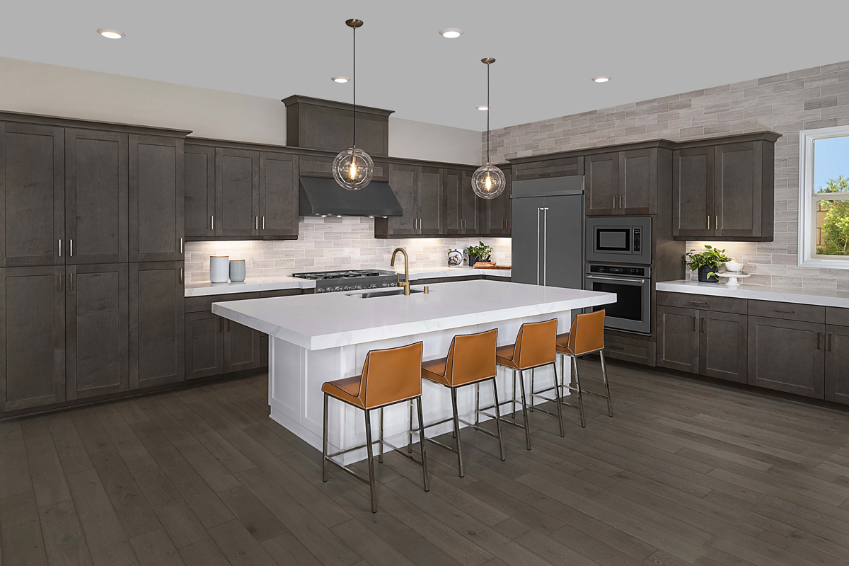 New Homes in Irvine, CA - Solano at Eastwood Village Residence Two - Kitchen