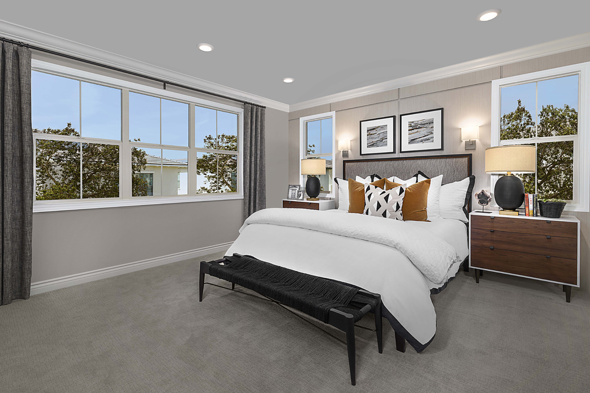 New Homes in Irvine, CA - Solano at Eastwood Village Residence Two - Master Bedroom