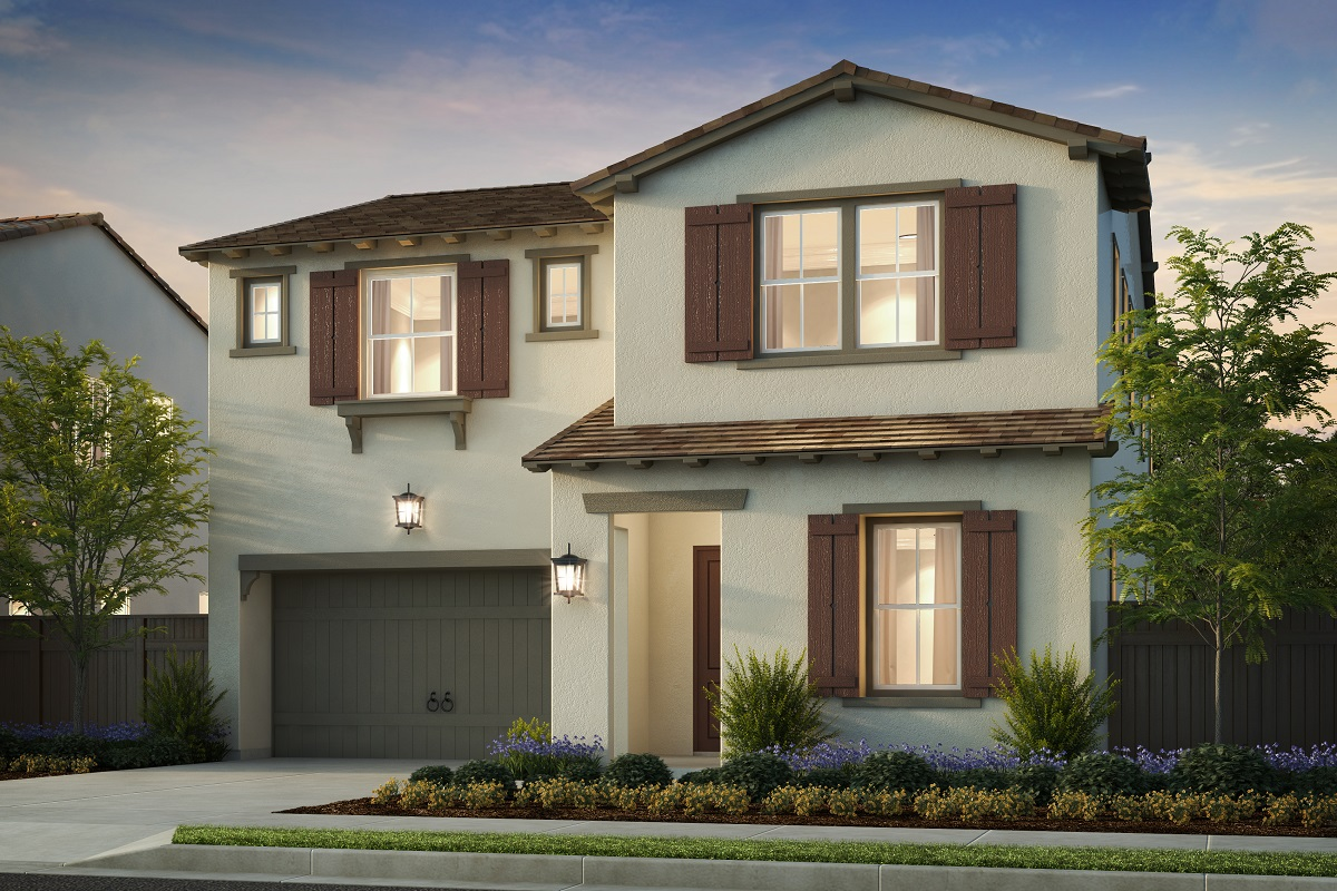 New Homes in Irvine, CA - Elevation B - Monterey