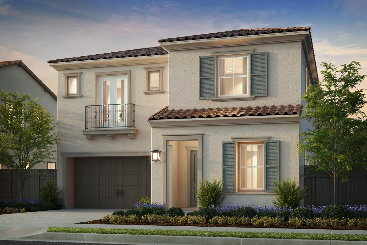 New Homes in Irvine, CA - Solano at Eastwood Village Plan 2886 - Elevation C