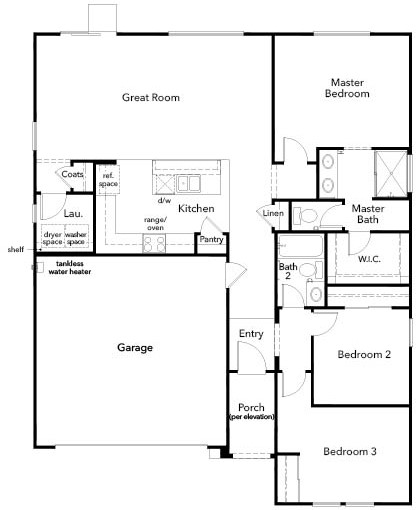 New Home Floor Plan In Autumn Winds® By KB