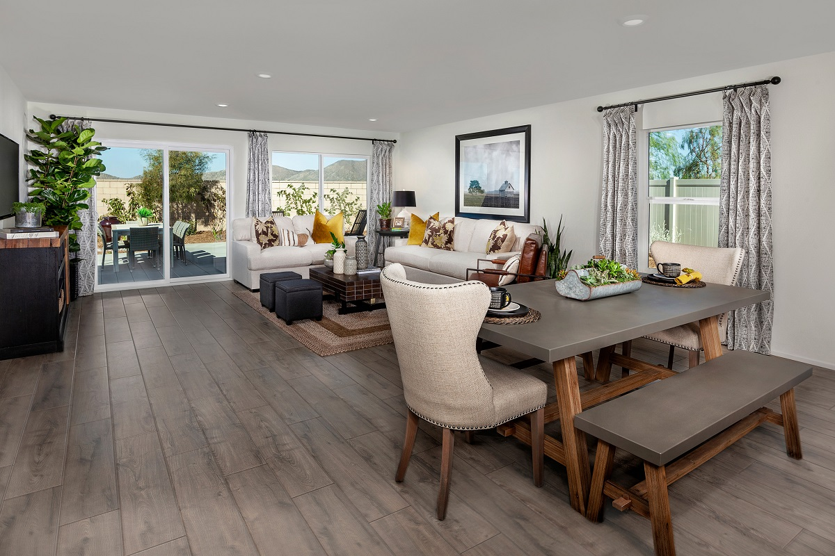New Homes in Winchester, CA - Autumn Winds® Residence Four - Great Room