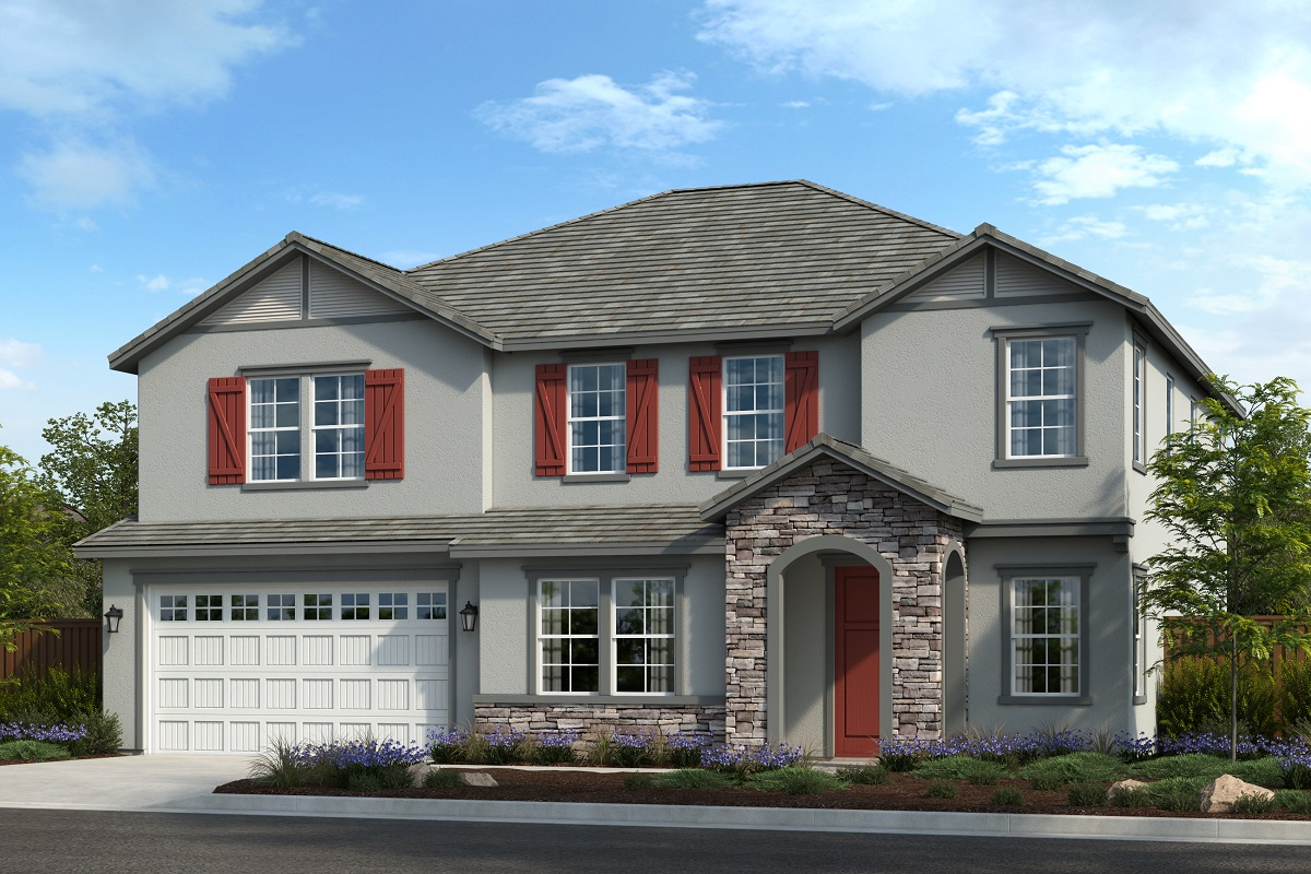 New Homes in Riverside, CA - Belcara at Spring Mountain Ranch Plan 3443 Elevation C